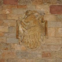 Stemma lapideo - Perugia, atrio di Palazzo dei Priori