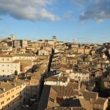 Perugia vista dall'alto