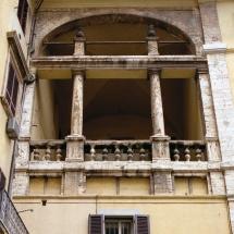 Palazzo Ansidei - loggia
