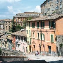 Via Appia - vista sulla Conca e Porta Sant'Angelo