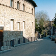 Via Bonfigli - Ospedale di San Giacomo