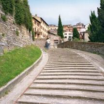 Via della Canapina - scalinata