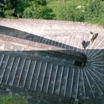 Via delle Prome - scalinata