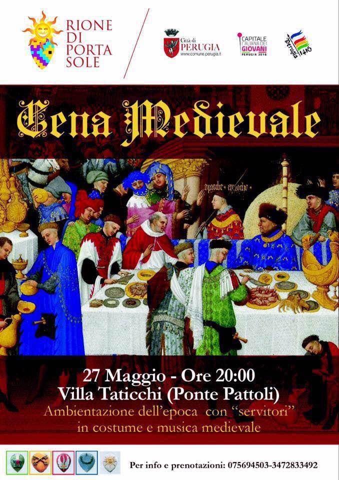 Perugia 1416 - Cena Medievale – Rione Porta Sole