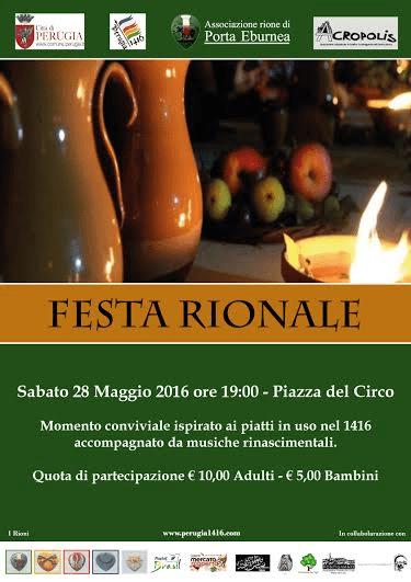 Perugia 1416 - Festa Rionale – Rione Porta Eburnea