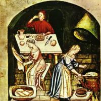 Perugia 1416 - Cibo medievale