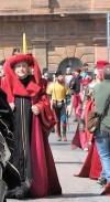 Perugia 1416 - Braccio In Corteo Con La Reggenza Comunale
