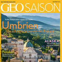Copertina magazine Ottobre 2016 - Geo Saison