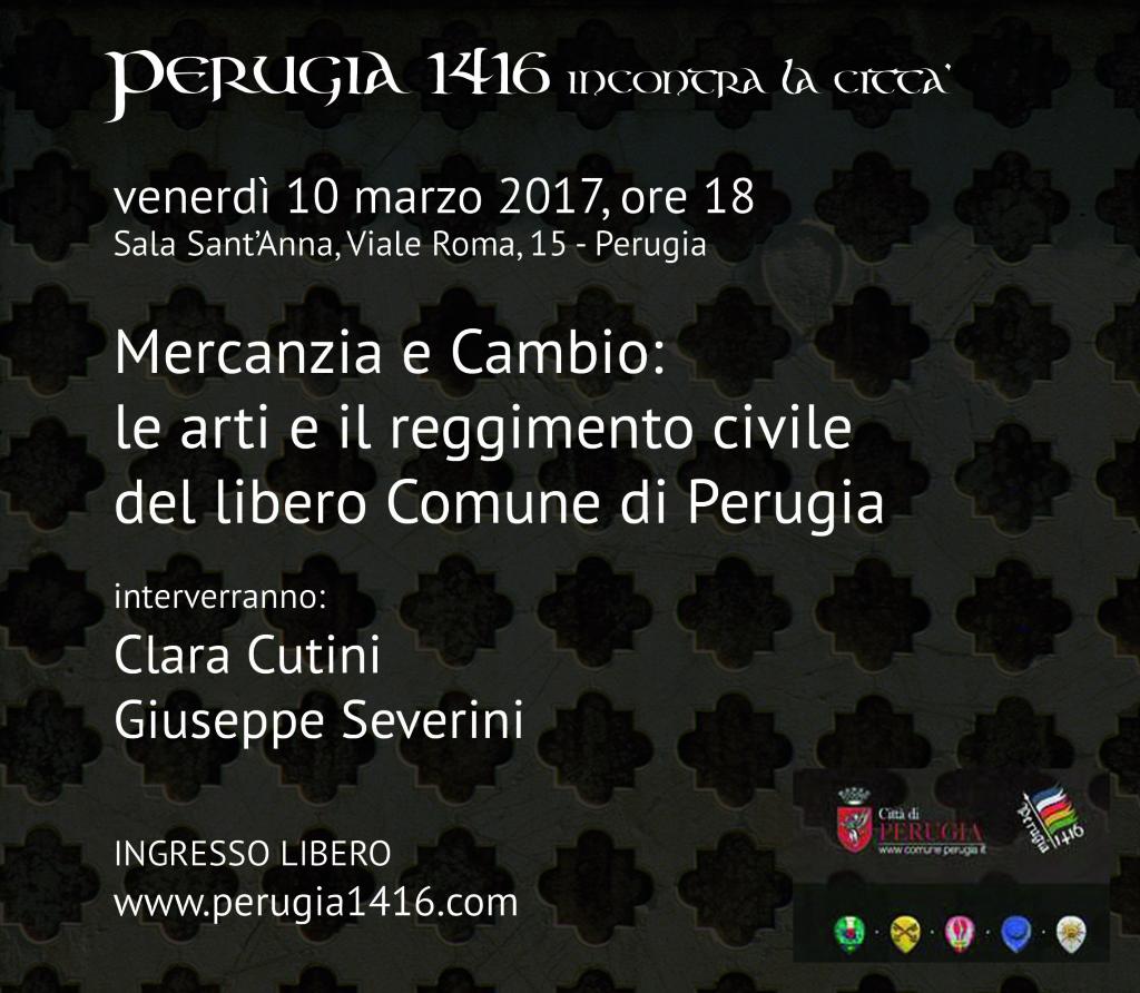 Perugia 1416 - Mercanzia e Cambio:le arti e il reggimento civile del libero Comune di Perugia