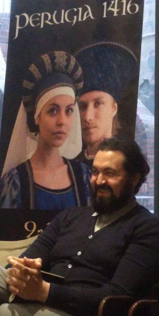 Rodolfo Mantovani - Direttore Artistico Perugia 1416 - Anno 2017