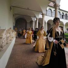 Magnifico Rione Porta San Pietro – Corteo storico – Figuranti e Prima Dama