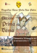 Elezione prima dama del Magnifico Rione Porta San Pietro