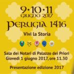 Presentazione Perugia 1416 – edizione 2017