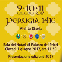 Presentation of Perugia 1416 – 2017 edition