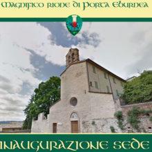 Inaugurazione sede Magnifico Rione Porta Eburnea