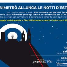 Minimetrò allunga le notti d'estate – Perugia 1416