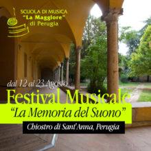 La memoria del suono. Festival dello spirito