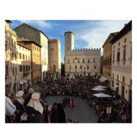 La delegazione Perugia 1416 alla Disfida di San Fortunato