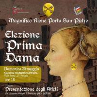 Elezione dama 2018 – Magnifico Rione Porta San Pietro
