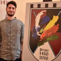 Perugia 1416: ecco il drappo del Palio 2018