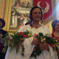 Roberta Baldoni è la prima dama di Porta Sant'Angelo