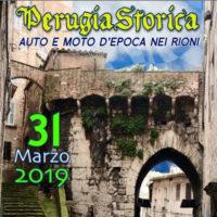 Perugia Storica. Auto e Moto d'epoca nei rioni – edizione 2019