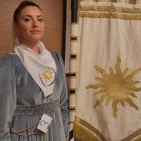 Angelica Giaggiolo la prima dama del Magnifico Rione di Porta Sole – edizione 2019