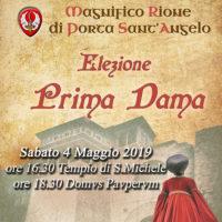 Elezione I° Dama 2019 – MRPS Angelo