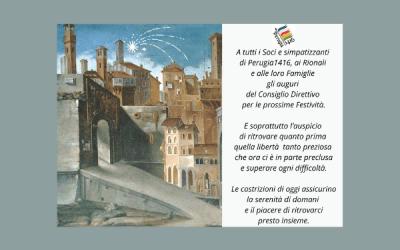 Auguri di Buon Natale – Associazione Perugia 1416