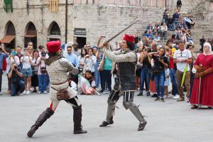 Dimostrazione Scherma medievale - 8 giugno 2018