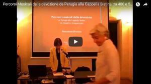Percorsi Musicali della devozione da Perugia alla Cappella Sistina tra 400 e 500